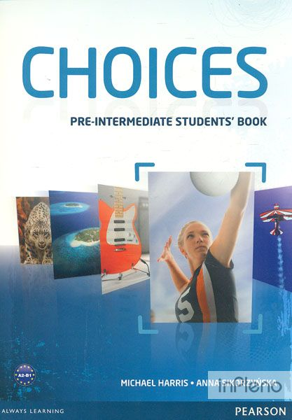 Choices Pre-Intermediate Students book