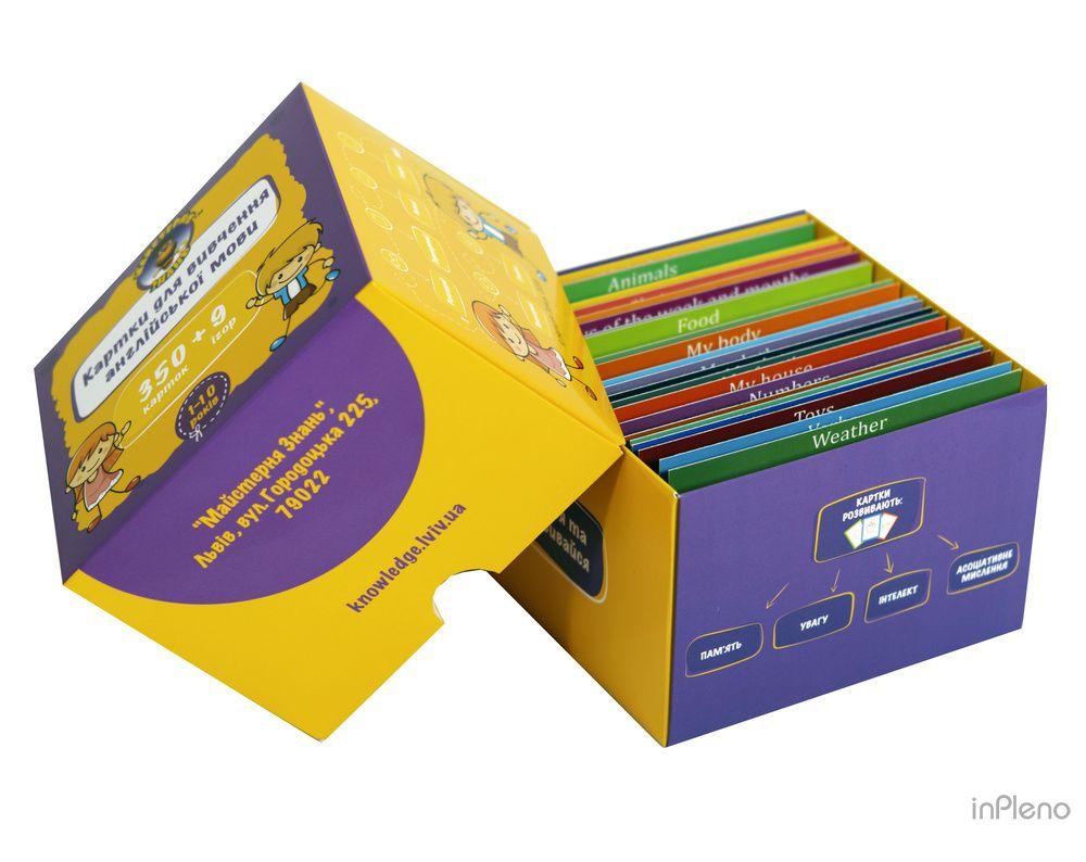 eb6be64b444db0 Картки для вивчення англійської мови 350+9 А1 Beginer, Заяць Н ...