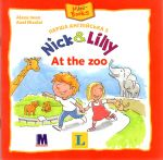 Nick and Lilly - At the zoo. Langenscheidt, Alexa Iwan (український словничок)