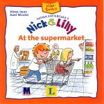 Nick and Lilly — At the supermarket. Langenscheidt, Alexa Iwan (український словничок)