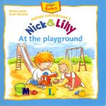 Nick and Lilly - At the playground. Langenscheidt, Alexa Iwan (український словничок)